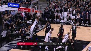 2nd Quarter, One Box Video: San Antonio Spurs vs. Los Angeles Clippers