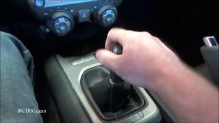 Як поставити Камаро у зворотному напрямку (6-ступінчаста механічна коробка передач)