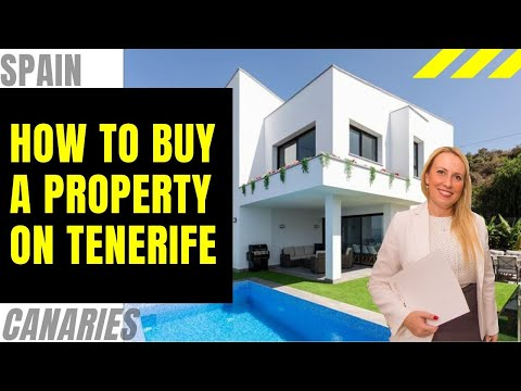 Buy a property on Tenerife (purchase procedure)