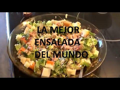 la mejor ensalada del mundo receta de ensalada youtube