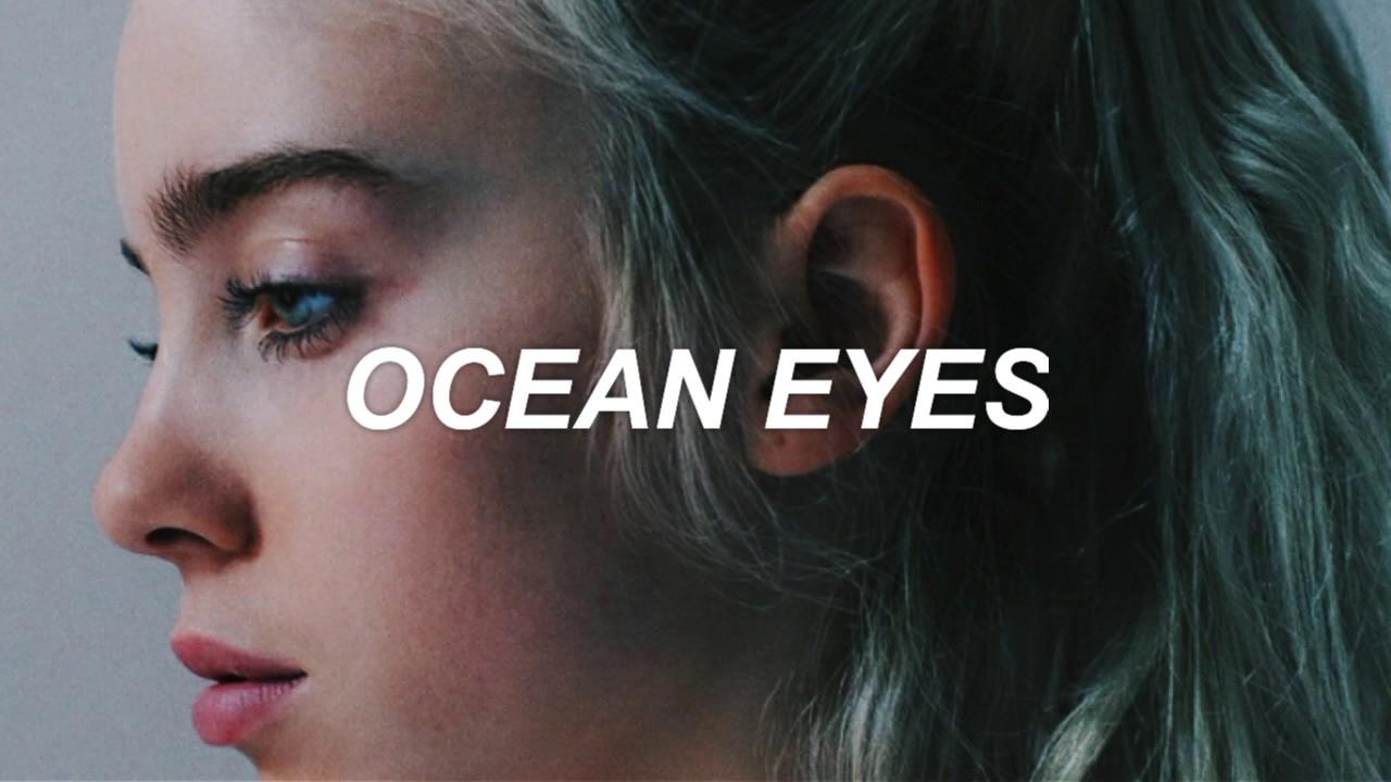 Billie Eilish Ocean Eyes Espa 241 Ol Youtube