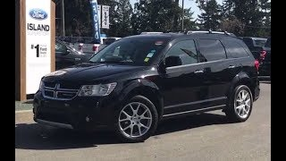 2015 Dodge Journey R/T W/ Leather, Backup Camera, AWD Review  Island Ford