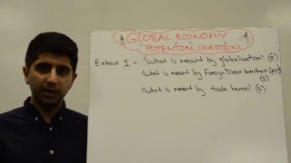 Extract 1 - 4 Marker - Definition Based Questions - OCR Global Economy F585