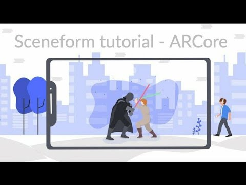 Build AR apps in Android Studio using Sceneform SDK (ARCore) - YouTube