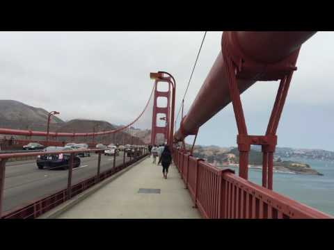 My walk across the Golden Gate Bridge