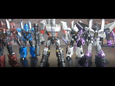 iGear ConAir Raptor Squadron Transformers Seekers Review