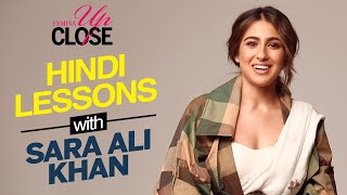 Hindi Lessons with Sara Ali Khan | Date Or Hate Ft. Sara Ali Khan | Sara Ali Khan Interview | Femina