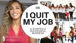 How I QUIT MY 9-5 JOB to start my own business! #storytime