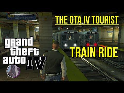 The GTA IV Tourist: Liberty City Train Ride and Stations Tour (K/E Line)