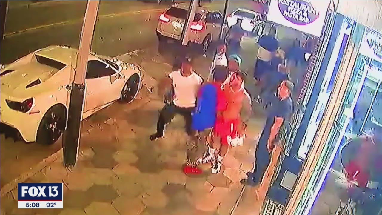 Download Deadly punch caught on video outside Ybor City bar