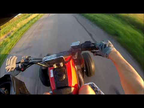 Yamaha Banshee 350cc Top Speed Test!!!