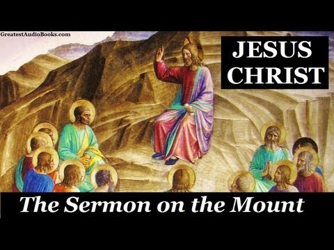 jesus christ the sermon on the mount Being a genuine christ follower requires more than just our words or actions – it requires a heart to know jesus when i first began to prepare the message this week, i had a nice attention.