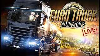[LIVE] EURO TRUCK SIMULATOR 2 - On the road again !