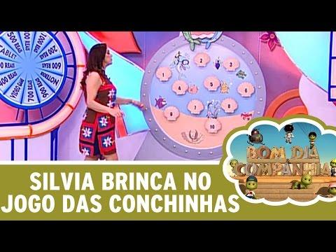 Bom dia e Cia (19/04/16) - Silvia Abravanel brinca no Jogo das Conchinhas