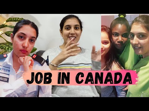 My Job In Canada (My Full Time & Part Time Work Experience)