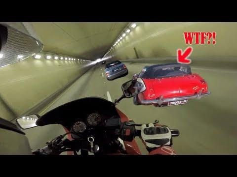 SuperCar Spotting During Monterey Car Week On LOUD Ninja 500r