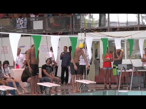 California Junior college swimming state champs 100 yrd fly
