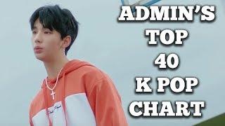 Top 40 K Pop Songs • Admin's Chart (June 2018 - Week 4)