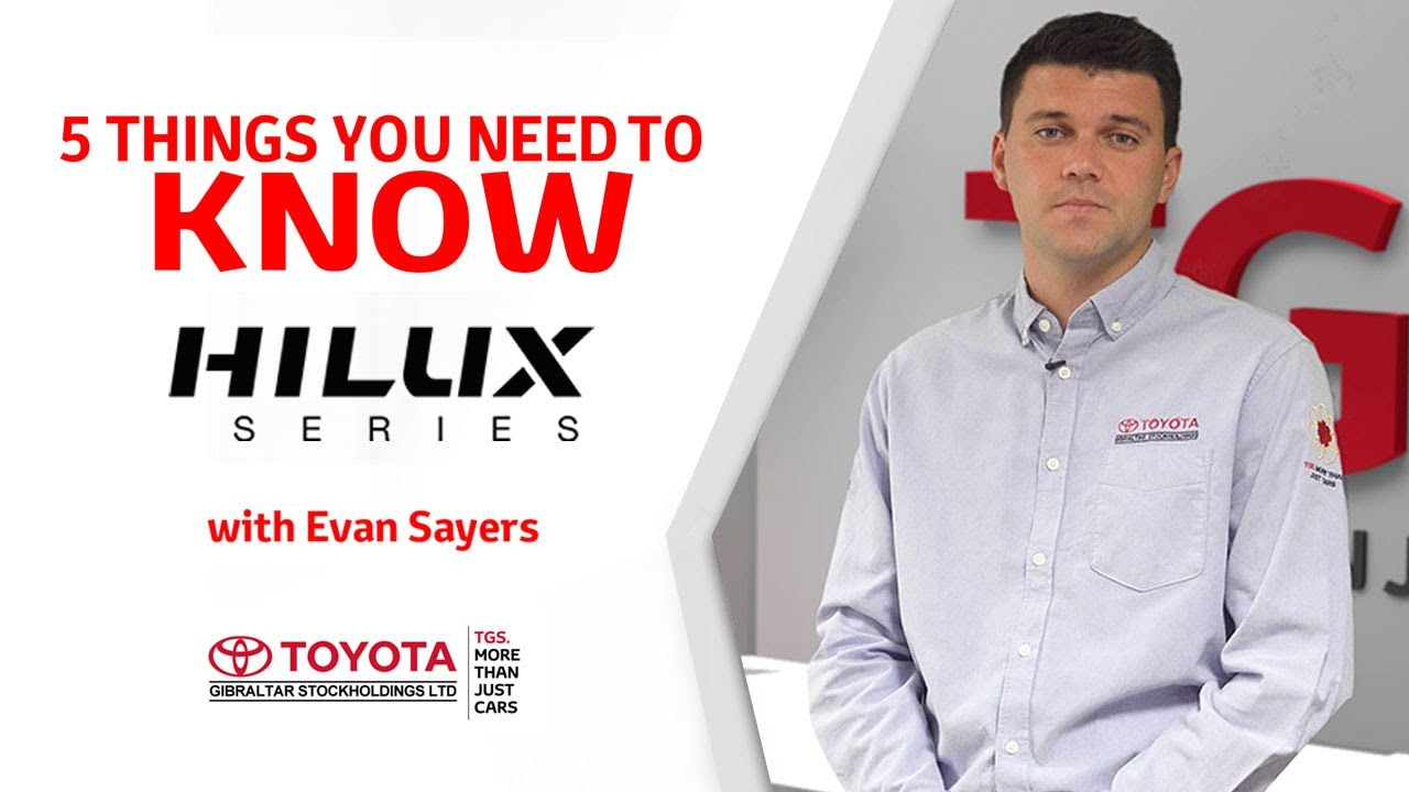 5 Things you need to know - Toyota Hilux