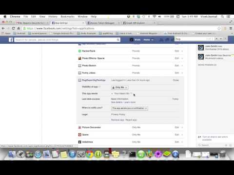 Facebook Bug - Posting without permissions on behalf of user by Vivek Bansal