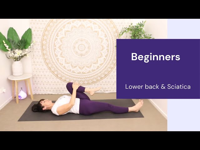 Beginners Yoga:  Release Lower back and prevent Sciatica.