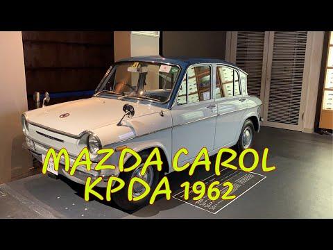 Mazda Carol Model KPDA Japan 1962 | Xe Có động Cơ 4 Xi-lanh Nhỏ Nhất Trên Thế Giới Vào Thập Niên 60