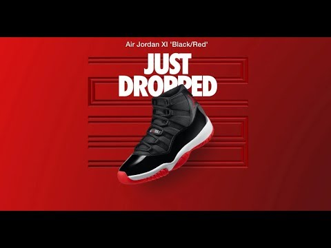 Nike SNKRS Shock Drop on the Air Jordan Bred 11 2019 Retro, DID YOU SCORE