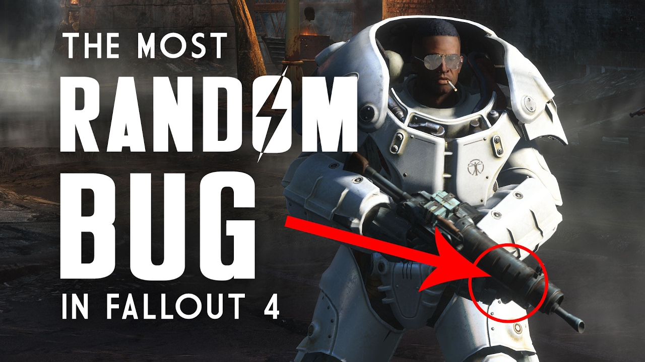 The Most Random Bug in Fallout 4 - How to Fix the Running Earthquake Glitch