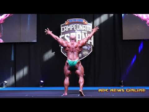 IFBB Campeonato de España National Pro Qualifier 2019: Big Ramy Guest Poser Pt.1