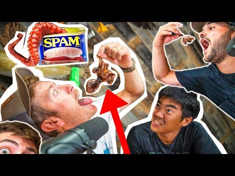 Try NOT To THROW UP Challenge! (Nasty Food)