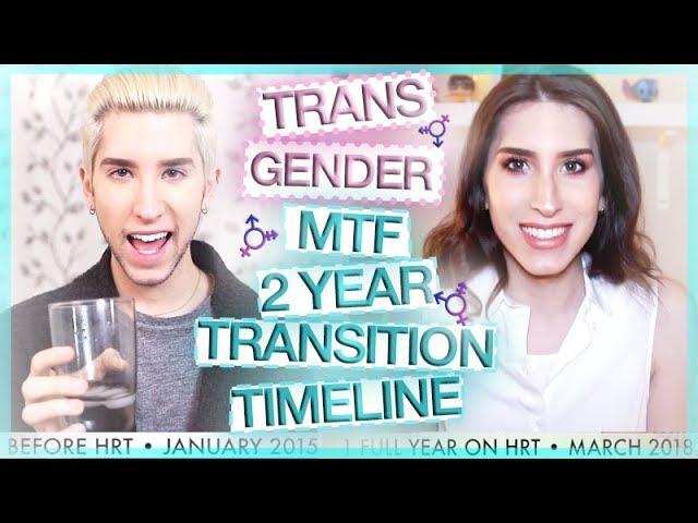 TRANSGENDER MTF - 2 YEAR HRT TRANSITION TIMELINE