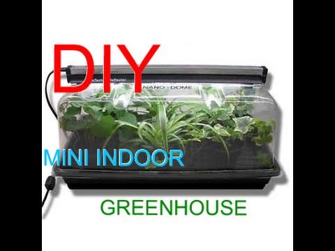 Diy Build A Indoor Mini Greenhouse To Grow Microgreens
