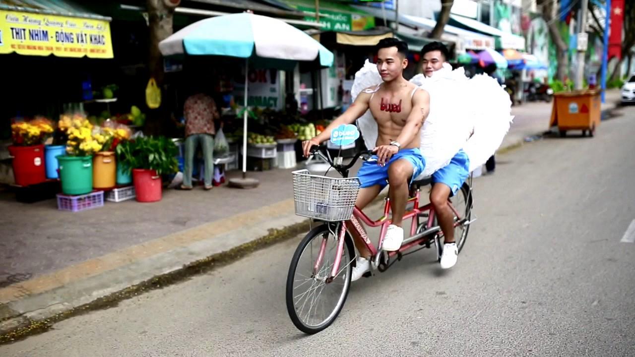 Thiên thần xuất hiện trên phố biển Vũng Tàu