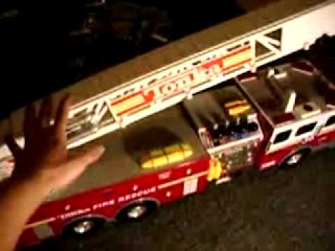 tonka battery powered firetruck youtube