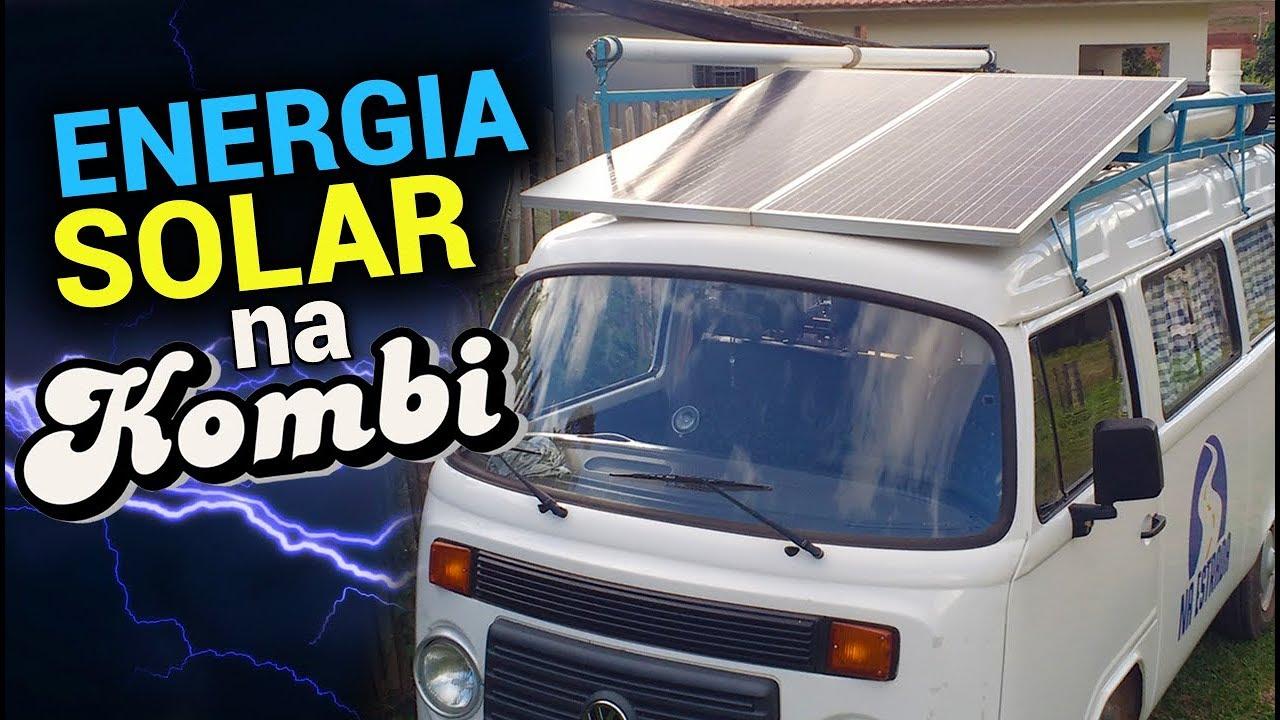 ENERGIA SOLAR NO MOTORHOME (PLACAS SOLARES) NA ESTRADA #34