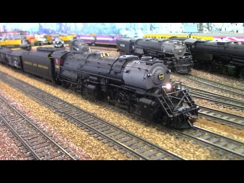 "HO Scale: Norfolk and Western #2192 featuring ""Rolling Thunder"" BLI Sound."