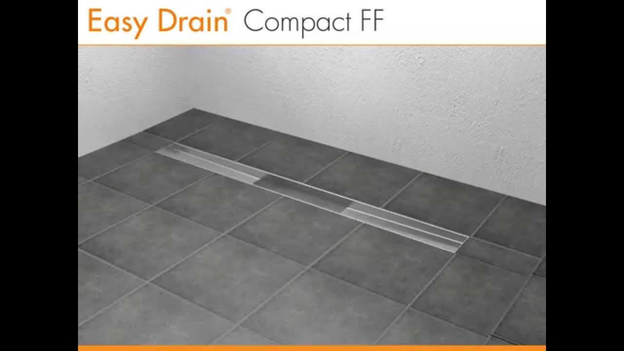 Easy Drain Compact - Techniek - YouTube