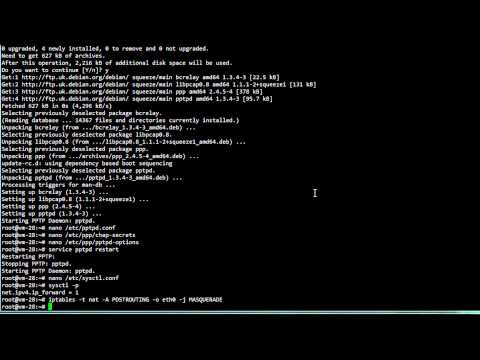How to setup a PPTP VPN server on Linux :: VPS Tutorials