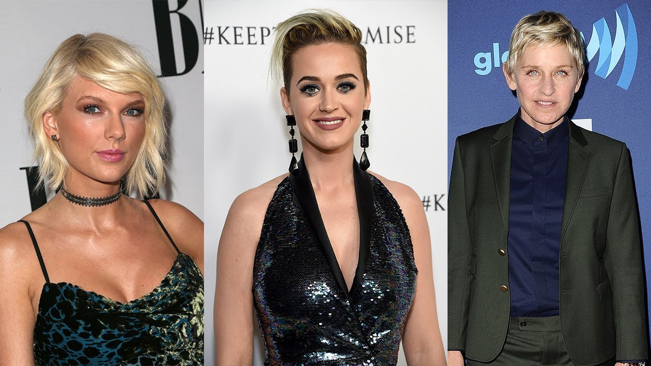 Taylor Swift Katy Perry More Celebs Honor Vegas Victims Urge