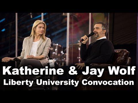Katherine and Jay Wolf - Liberty University Convocation