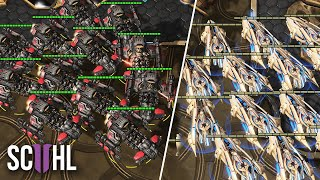 MASS BATTLECRUISERS vs. MASS CARRIERS - Starcraft 2: Stats vs. Soul