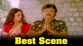 Ponmana Selvan Movie : Shobana Following to Vijayakanth