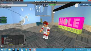 ROBLOX Hole In The Wall GLITCH