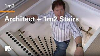 Ruimte besparende trap van EeStairs (uitzending Batiportal.be)