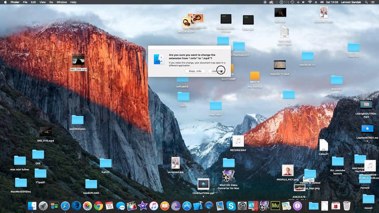 How To Convert M4V to MP4 (Windows & Mac)