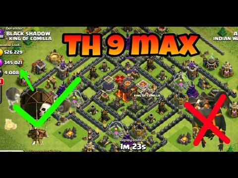 Clash of clan only balloons attack no lava hound (hindi) sam play free computer games online