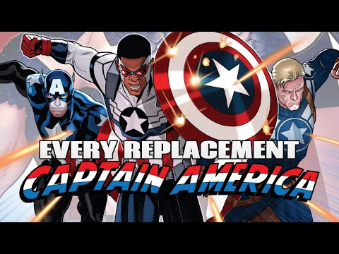 Every Replacement Captain America