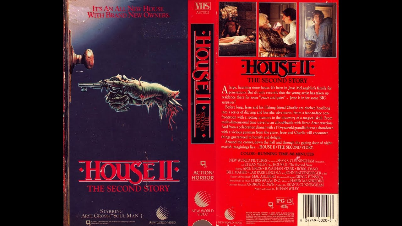House ii the second story 1987 movie review youtube for House music 1987
