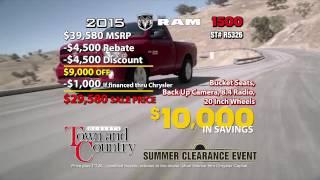 Ram Summer Clearance Event | Hebert