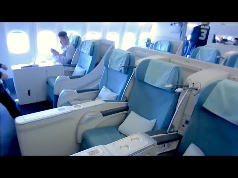 (1/2) Korean Air B777 - KE622 Manila to Seoul Incheon - Flight Vlog